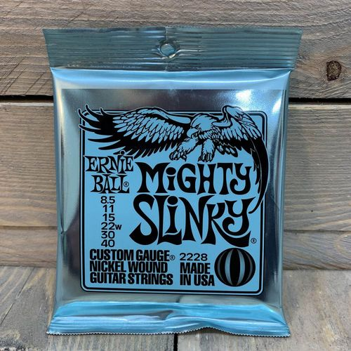 Ernie Ball 2228 Mighty Slinky Electric 8.5-40